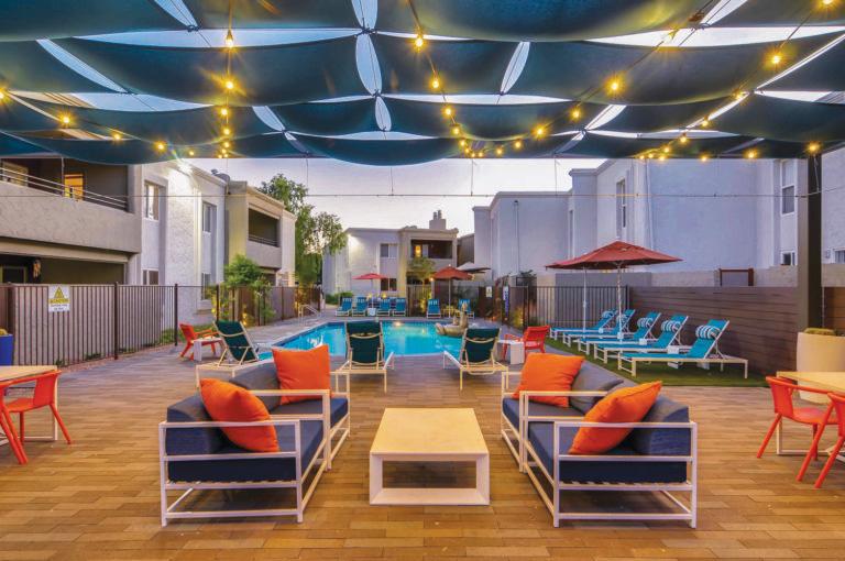 7749 E Camelback Rd Scottsdale Exterior Pool